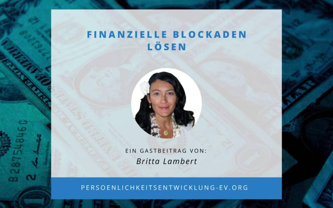 Finanzielle Blockaden lösen